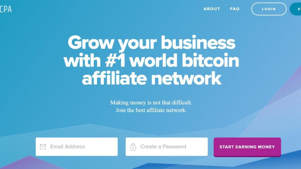 💸RunCPA Bitcoin Affiliate Review